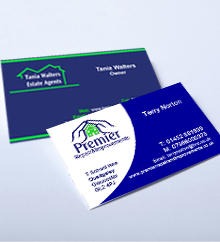 Local business card printing in gloucester cheltenham stroud and high quality business cards reheart Image collections